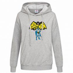 Женская толстовка Batman Hero - FatLine