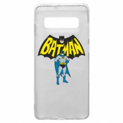 Чехол для Samsung S10+ Batman Hero