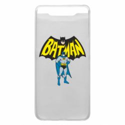 Чехол для Samsung A80 Batman Hero