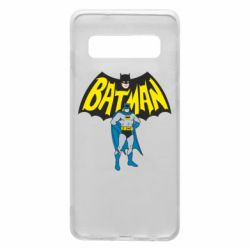 Чехол для Samsung S10 Batman Hero