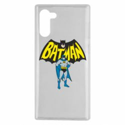 Чехол для Samsung Note 10 Batman Hero