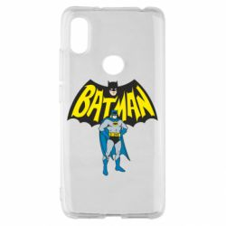 Чехол для Xiaomi Redmi S2 Batman Hero