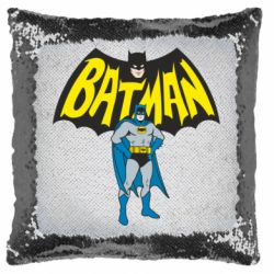 Подушка-хамелеон Batman Hero