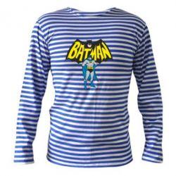 Тельняшка с длинным рукавом Batman Hero - FatLine