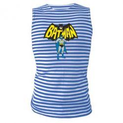 Майка-тельняшка Batman Hero - FatLine