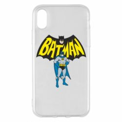 Чехол для iPhone X/Xs Batman Hero