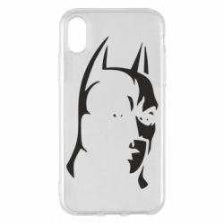 Чехол для iPhone X/Xs Batman Hero