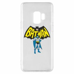 Чехол для Samsung S9 Batman Hero