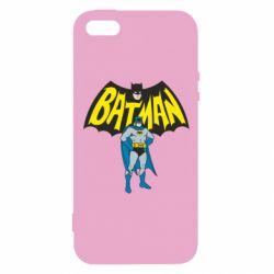 Чехол для iPhone5/5S/SE Batman Hero