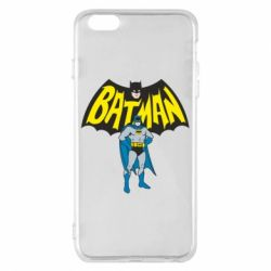 Чехол для iPhone 6 Plus/6S Plus Batman Hero