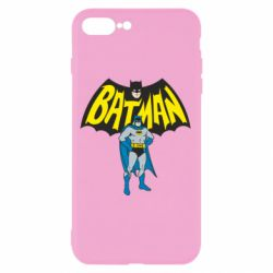 Чехол для iPhone 7 Plus Batman Hero