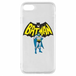 Чехол для iPhone 8 Batman Hero