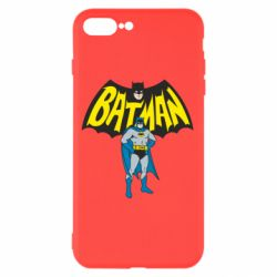 Чехол для iPhone 8 Plus Batman Hero