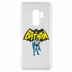 Чехол для Samsung S9+ Batman Hero