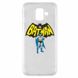 Чехол для Samsung A6 2018 Batman Hero