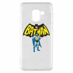 Чехол для Samsung A8 2018 Batman Hero