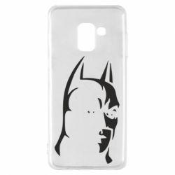 Чехол для Samsung A8 2018 Batman Hero