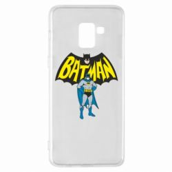 Чехол для Samsung A8+ 2018 Batman Hero