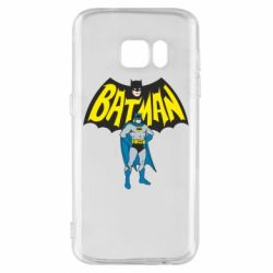 Чехол для Samsung S7 Batman Hero