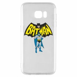 Чехол для Samsung S7 EDGE Batman Hero