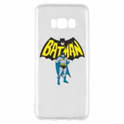 Чехол для Samsung S8 Batman Hero