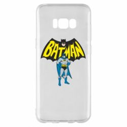 Чехол для Samsung S8+ Batman Hero