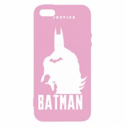 Купить Лига справедливости, Чехол для iPhone5/5S/SE Batman, justice, FatLine