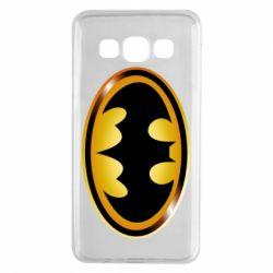 Чохол для Samsung A3 2015 Batman logo Gold