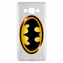 Чохол для Samsung A5 2015 Batman logo Gold