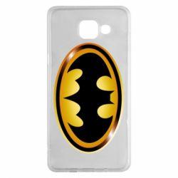 Чохол для Samsung A5 2016 Batman logo Gold