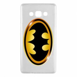 Чохол для Samsung A7 2015 Batman logo Gold