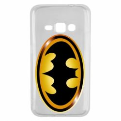 Чохол для Samsung J1 2016 Batman logo Gold