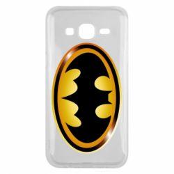 Чохол для Samsung J5 2015 Batman logo Gold