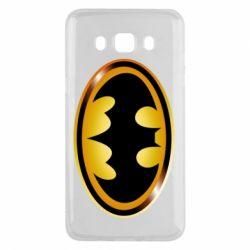 Чохол для Samsung J5 2016 Batman logo Gold