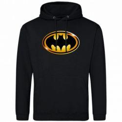Мужская толстовка Batman logo Gold - FatLine