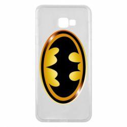 Чохол для Samsung J4 Plus 2018 Batman logo Gold