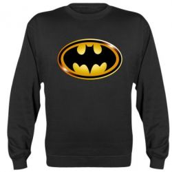 Реглан (свитшот) Batman logo Gold - FatLine