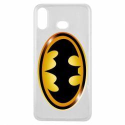 Чохол для Samsung A6s Batman logo Gold