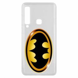 Чохол для Samsung A9 2018 Batman logo Gold