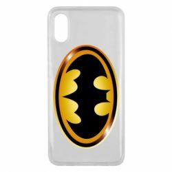 Чохол для Xiaomi Mi8 Pro Batman logo Gold
