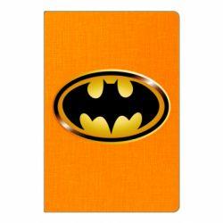 Блокнот А5 Batman logo Gold