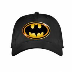 Детская кепка Batman logo Gold - FatLine