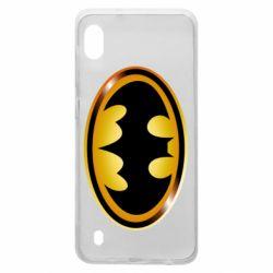 Чохол для Samsung A10 Batman logo Gold