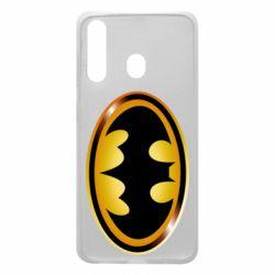 Чохол для Samsung A60 Batman logo Gold