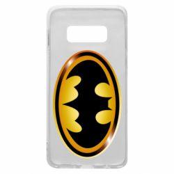 Чохол для Samsung S10e Batman logo Gold