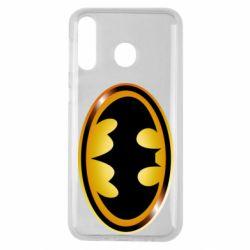 Чохол для Samsung M30 Batman logo Gold