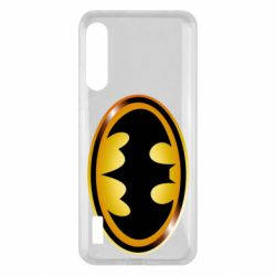 Чохол для Xiaomi Mi A3 Batman logo Gold