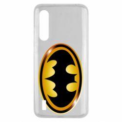 Чохол для Xiaomi Mi9 Lite Batman logo Gold