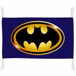 Прапор Batman logo Gold
