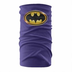 Бандана-труба Batman logo Gold